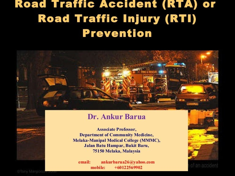 essay about traffic accidents Prevent accidents by taking  administration must leave no stone unturned in ensuring proper condition of the roads and enforcing strict adherence to traffic.