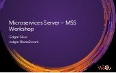 Workshop/Tutorial WSO2 Micro Services Server