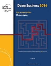 Doing business in Montenegro 2014 - The World Bank study