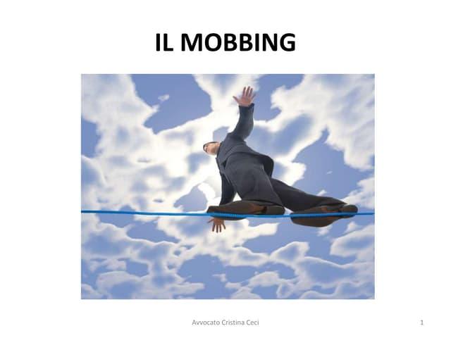 IL MOBBING - Avvocato Cristina Ceci