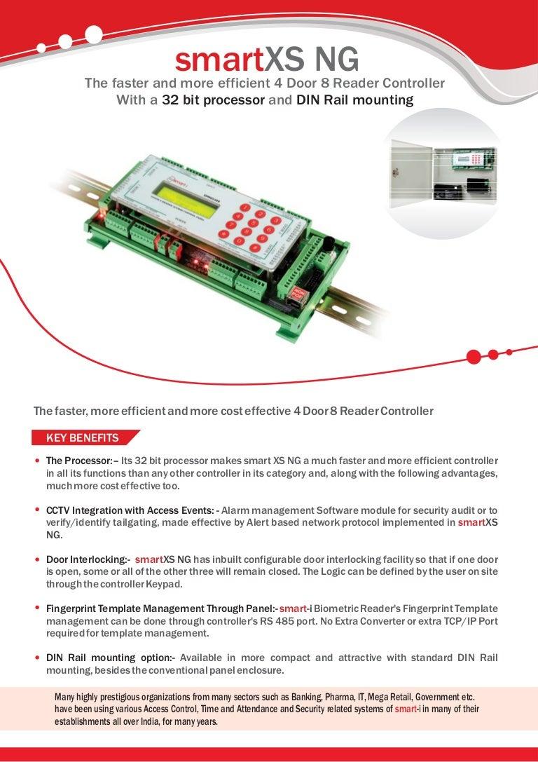 Smartxs Ng Next Generation Multidoor Access Control Panel Door Opening Alarm Alert Circuit