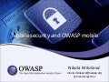 Mobile security, OWASP Mobile Top 10, OWASP Seraphimdroid