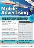 Mobile Advertising confernce brochure