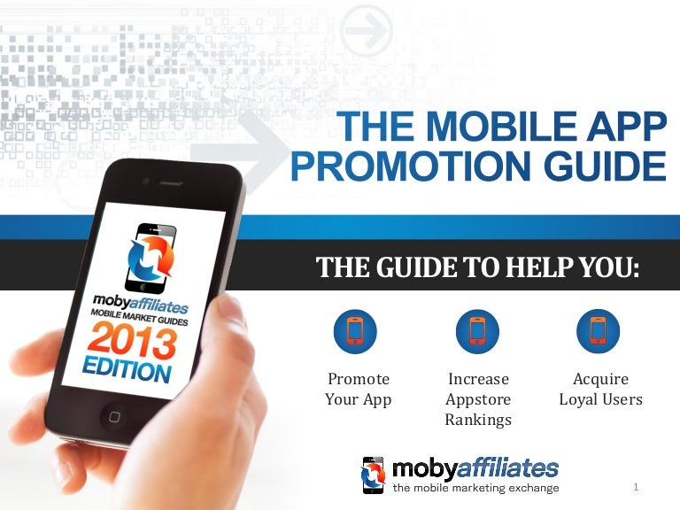 Mobile App Promotion Guide 2013