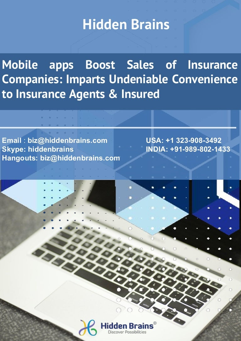 mobile apps development for insurance companies & agents : Case Study