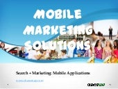 Mobile Marketing Small Business Presentation - Chaosmap.com