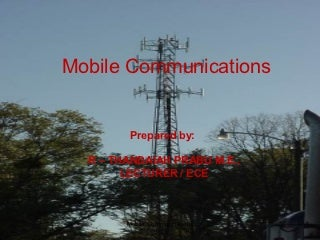 Mobile communication intro