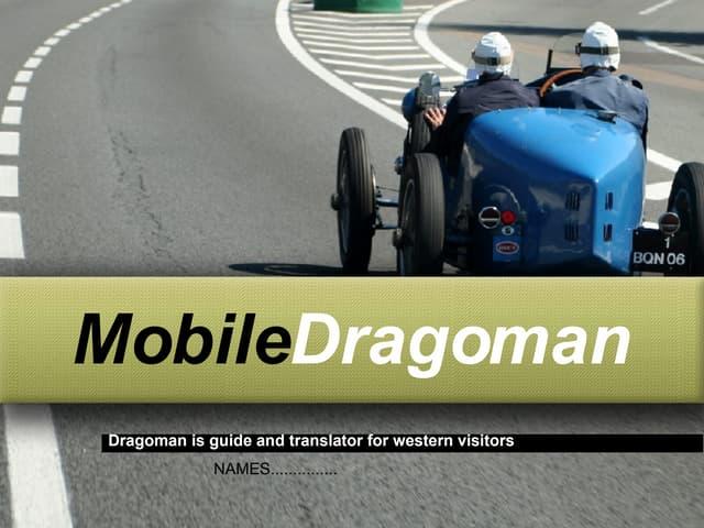MobileDragoman's Business Plan Presentation