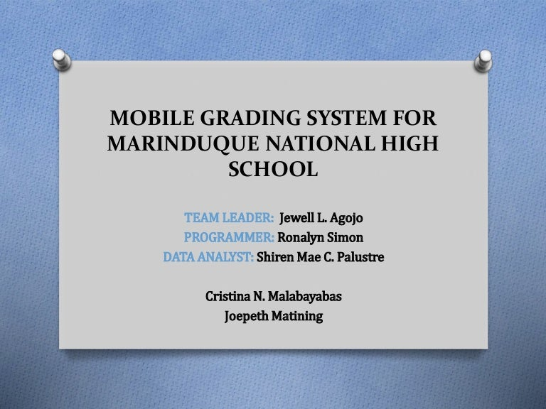scope and limitation of online grading system of preparatory Online grading system is designed to provide incentive reward for achievement and assist in identifying problems of the student grading system is the most commonly used in computing and analyzing the performance, talent and skills of student.