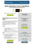 Webinar Invitation: Mobile marketing for the youth market