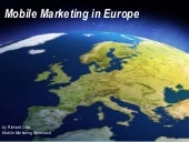 Mobile marketing in europe