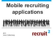 12 Mobile Recruiting Applications