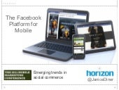 Facebook Mobile Social Commerce