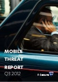 Mobile threat report q3 2012