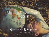 Mobile travel trends 2015