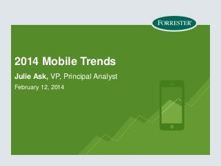 2014 Mobile Trends