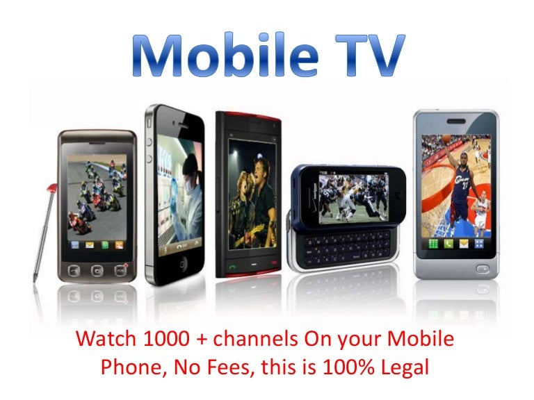 Dont miss any TV show anymore, watch it on your Phone!