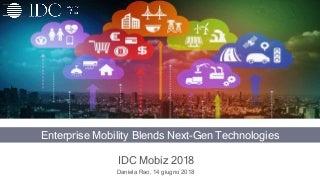 Enterprise Mobility Blends Next-Gen Technologies