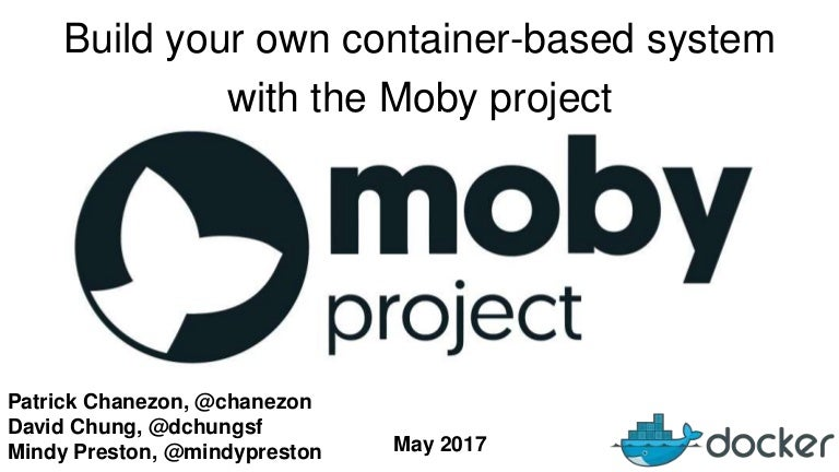 Oscon 2017: Build your own container-based system with the