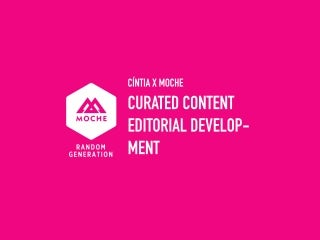 Social Media Marketing & Copywriting - Content Development for Moche's Facebook Page