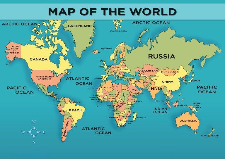 images world maps