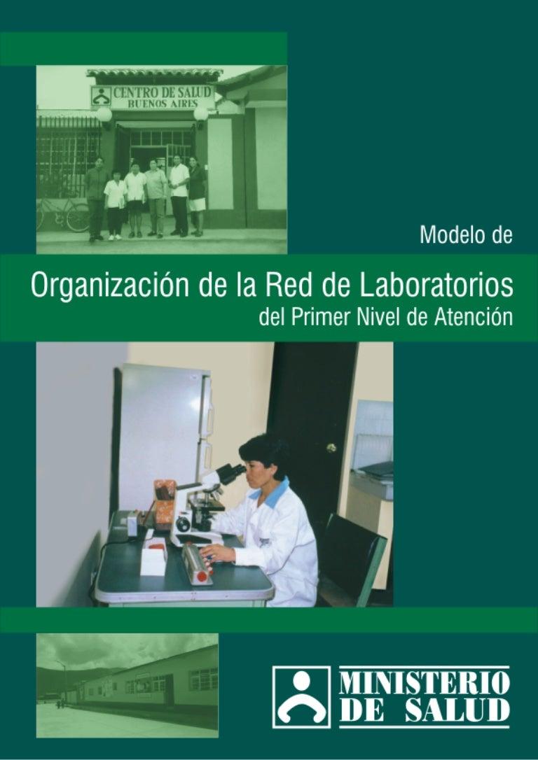 Mod. organiz red laboratorios 1er nivel at.