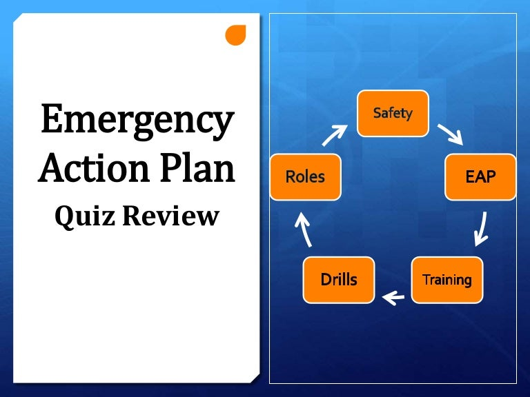 Emergency Action Plan Training Review