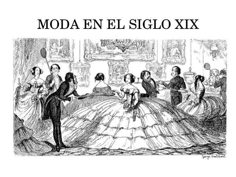 Moda en el siglo xix for Diseno de interiores siglo xix