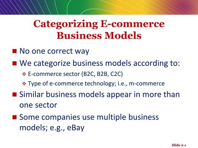 B2C Models