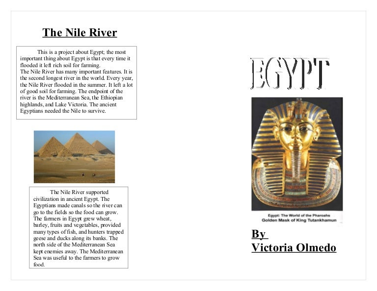 Model Egypt Brochure Victoria Olmedo