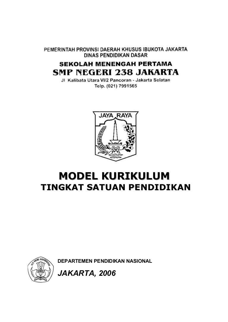 Model Ktsp Smp 2006