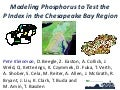 Modeling phosphorus runoff in the chesapeake bay region to test the phosphorus index