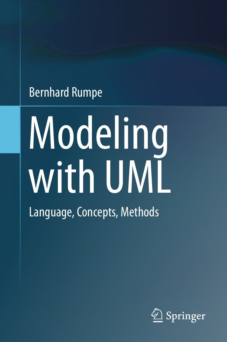 Modeling with uml language, concepts, methods