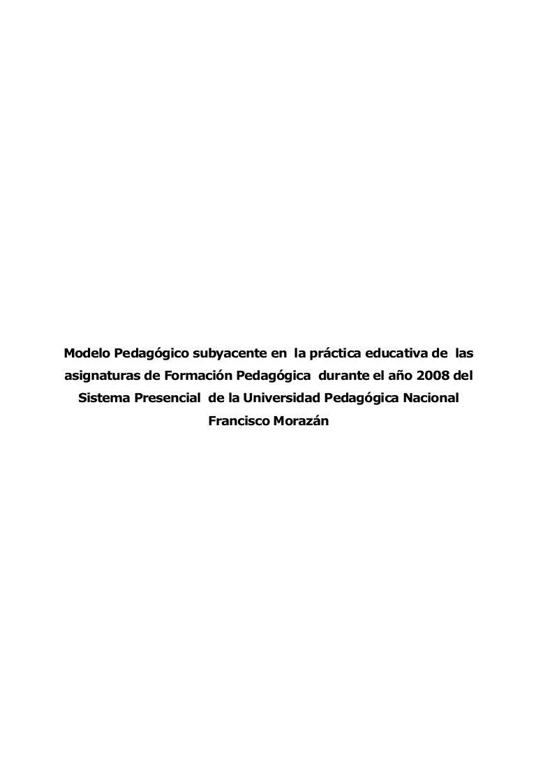 Modelo pedagogico-subyacente-en-la-practica-educativa-de-las-asignatu…
