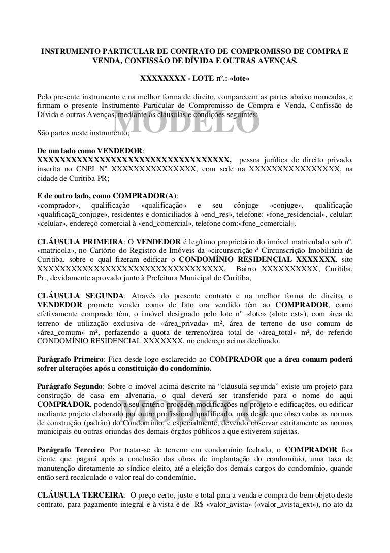 Modelo contrato terrenos for Modelo contrato por horas