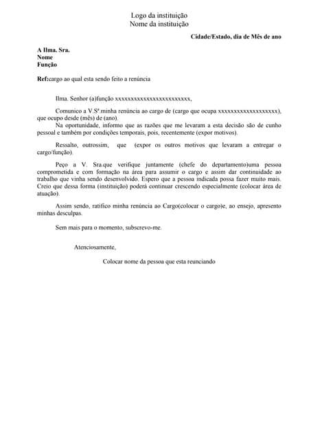 Modelo De Carta De Circularização Clientes E Fornecedores