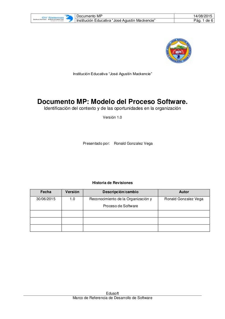 Modelo del proceso_software