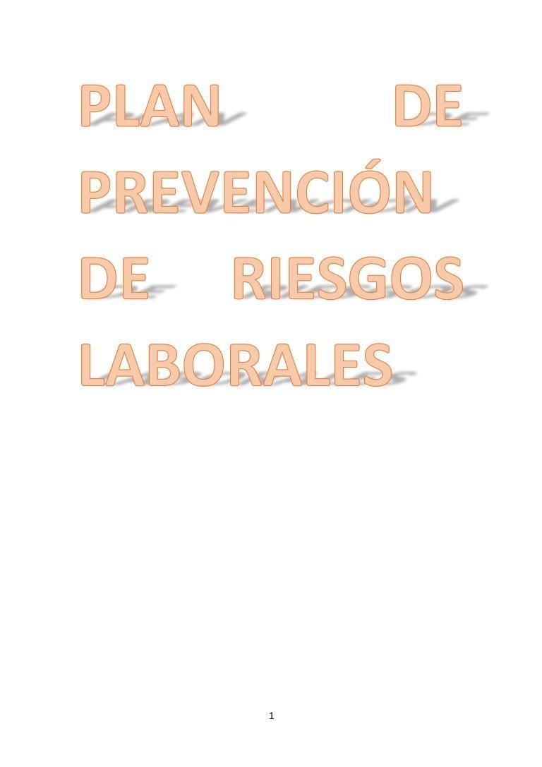Modelo de plan de prevención 2016