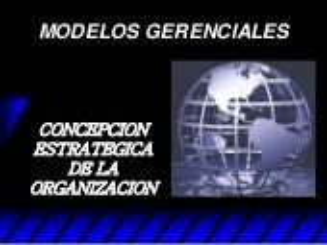 Modelos gerenciales