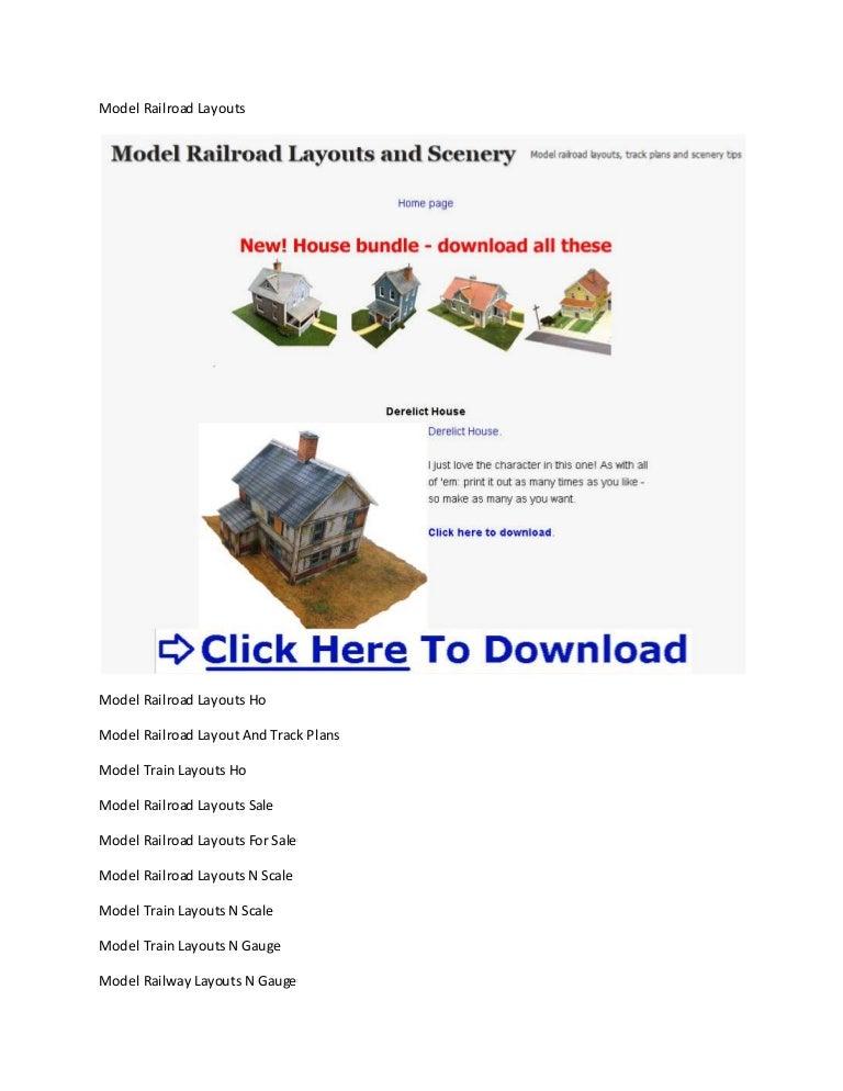 Model Railroad Layouts O Scale Model Railroad Layout Design Software