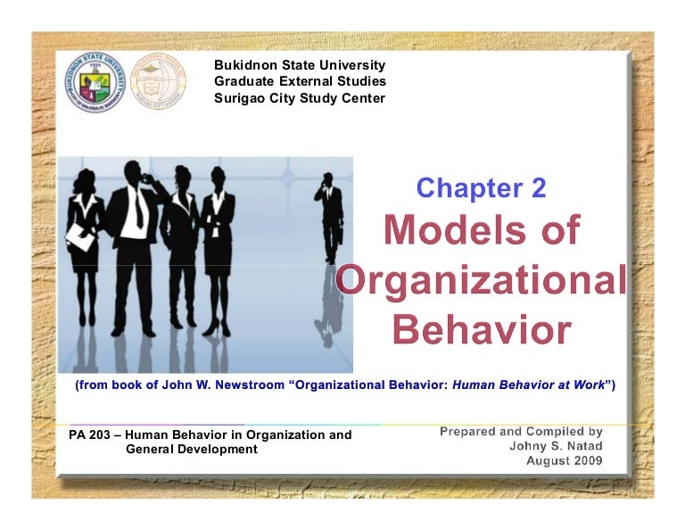 models of organizational behavior