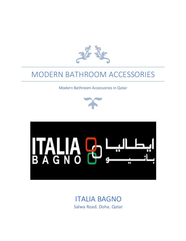 Bathroom Accessories Qatar modern bathroom accessories