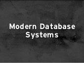 Modern Database Systems (for Genealogy)