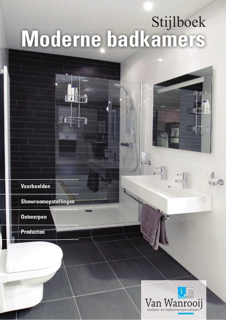 Voorbeelden van moderne badkamers