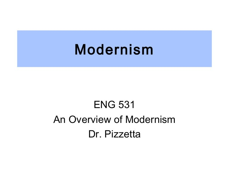 modernism overview
