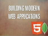 Modern Web Applications with MongoDB