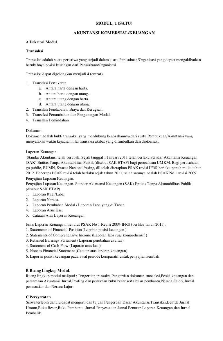 Modul Akuntansi Pajak 1