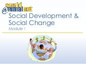 Module 1 - Social Change and Social Development