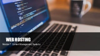 Content Management Systems (CMS) - Web Hosting Curriculum [7/10]