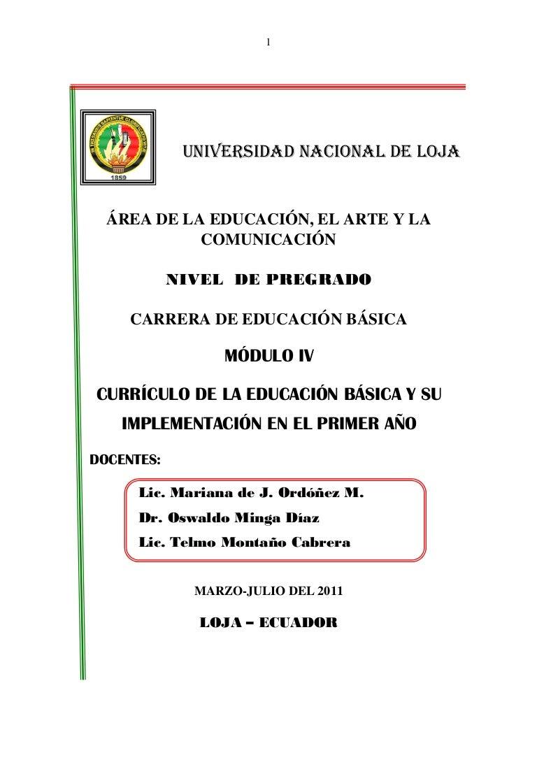Modulo 4.currículo-de-primer-año